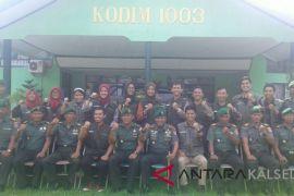 Dandim Kandangan Terima Kunjungan Pengajar Muda Indonesia