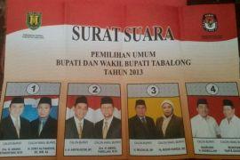 KPU Tabalong terima 169.423 surat suara