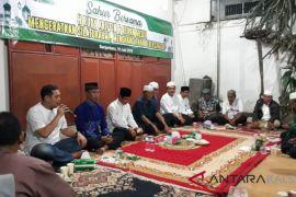 Mempererat silaturahmi H Rudy Ariffin sahur bersama media