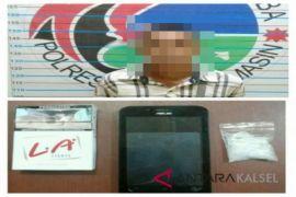 Pengedar ditangkap saat transaksi 5,24 gram sabu-sabu
