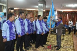 Pengurus PWI Tanah Bumbu 2018-2021 dilantik