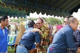 Bupati Kotabaru  halal bihalal ke kecamatan-kecamatan