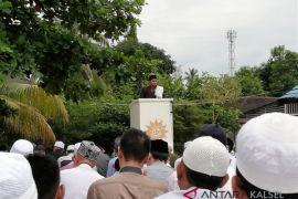 Ribuan Warga Muhammadiyah Tapin Padati Lapangan SMP Muhammadiyah