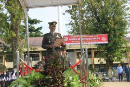 Dandim sampaikan pesan Jokowi pada peringatan Hari Lahir Pancasila