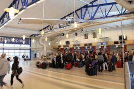 Penumpang Bandara Syamsudin Noor naik 8,96 persen