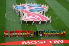Hari pertama Piala Dunia