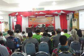 Pasangan Arifin Arpan - Syafruddin Noor raih suara 100% di Hatungun