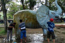 Pertamina Tanjung benahi taman 1O K