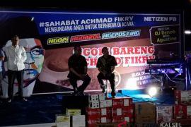 Ribuan relawan hadiri ngopi bareng Achmad Fikry