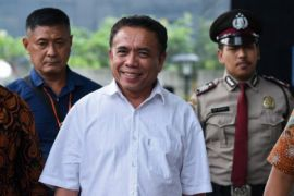 Gubernur Aceh resmi ditahan KPK