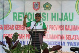 Gubernur: Gerakan revolusi hijau program abadi Kalsel