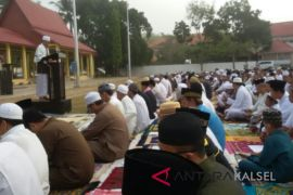 Warga Nahdiyin dan Muhammadiyah gelar Sholat Idul Adha