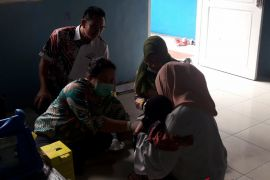 MR Immunization in Banjarmasin continues