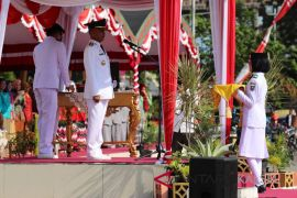 Pemkab HSS gelar peringatan HUT ke-73 kemerdekaan RI
