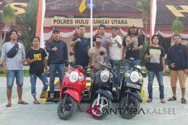 Polres HSU tangkap buron pelaku curanmor di Kalteng