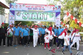 Ribuan masyarakat Tapin ikuti jalan santai KNPI