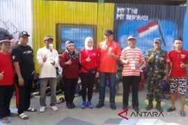 Dandim ikut lomba 17 Agustusan di Kampung Hijau Tentara