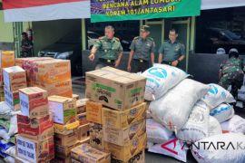 Korem 101/Antasari kirim 7 truk bantuan korban gempa Lombok