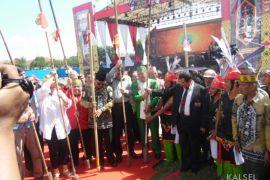 Gubernur buka festival pesona budaya Borneo