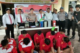 Polres Banjarbaru tangkap komplotan pencuri