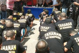Operasi Antik tangkap 42 pengedar dan pemakai Narkoba