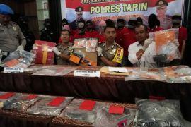 Polres Tapin amankan 21 gram sabu pada Operasi Antik 2018