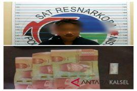 Polisi gagalkan transaksi Narkoba di tepi jalan