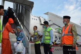 Seorang jemaah haji Kalsel wafat setelah pesawat mendaarat
