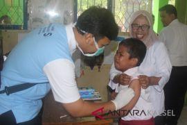 Baru 27 persen anak Banjarmasin diimunisasi MR