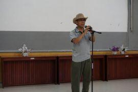 Kepala LLDIKTI Wilayah XI Kalimantan juri lomba menyanyi
