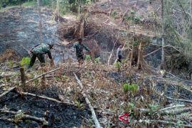 Personel gabungan kewalahan hadapi Karhutla di Banjarbaru