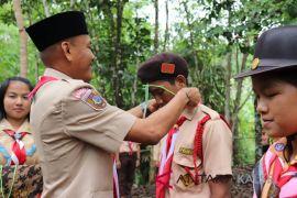 Dahnial buka Kemsana Siaga Galang Kwartir Ranting Loksado