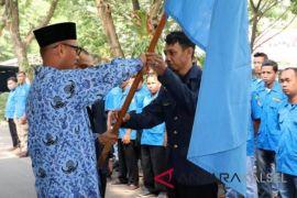 Pj Bupati lepas 420 orang kontingen karang taruna HSS