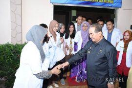 HSS again receives internship doctors