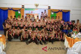 Achmad Fikry tradisikan pawai obor Kwarcab Pramuka HSS