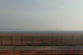 Bandara Syamsudin Noor diselimuti kabut asap