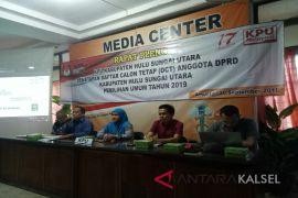 KPU HSU tetapkan DCT anggota DPRD Pileg 2019