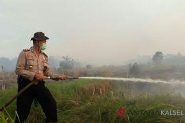 West Banjarbaru Police on fire alert at dry season height