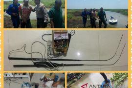 Warga HST pelaku penyetruman ikan Danau Bangkau ditangkap polisi