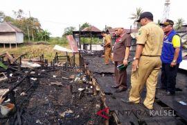 Kebakaran Dua Desa 10 Rumah Hangus Terbakar
