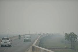 Flights disrupted by haze at Syamsudin Noor