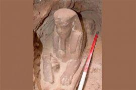 Arkeolog Mesir temukan patung Sphinx diduga dari zaman Ptolemaic