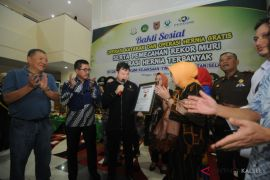 AGO wins MURI for most hernia surgery in South Kalimantan