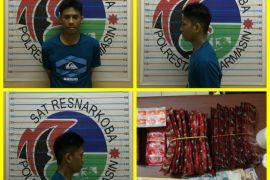 Polisi tangkap pengedar ribuan butir obat ilegal
