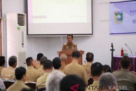 Bupati pimpin rapat monitoring dan evaluasi pembangunan