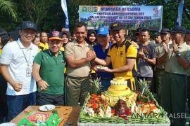 Tingkatkan kebersamaan TNI-POLRI-ASN olahraga bersama