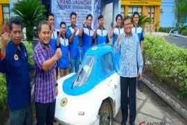 ULM tampilkan Barakat Urban Vehicle di Kontes Mobil Hemat Energi 2018