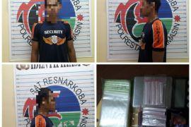 Satuan Narkoba Banjarmasin ringkus satpam jual sabu-sabu