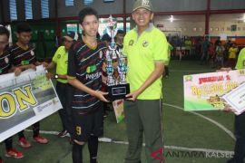 SMKN 5 winner of Kodim's futsal championship