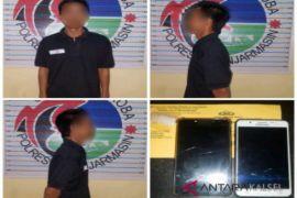 Satresnarkoba tangkap dua pria bertransaksi sabu-sabu